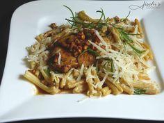fischis cooking and more: karreesteaks mit eierschwammerl und pasta