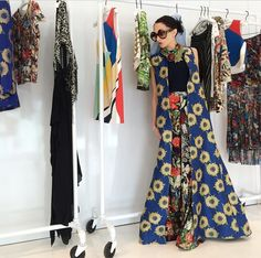 Stacey Bendet of Alice and Olivia.  One of my favorite designers/fashionistas and a kick ass ashtangi <3  Major girl crush on this girl!