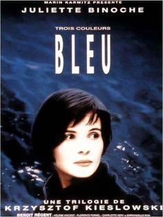 Trois couleurs - Bleu : affiche