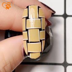 Style Nails, Nail Art Videos, New Nail Art, Design Tutorials, Nail Ideas, Nail Designs, Weaving, Nail Polish, Animals