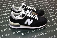 Men And Women New Balance 990 NB990 Shoes A  Nubuck All Black|only US$75.00 - follow me to pick up couopons.