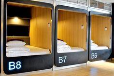 My Bed Capsule Sleep Box Hostel - Ratchada Ladprao Bangkok Thailand Sleep Box, Sleeping Pods, Power Nap, Self Storage, Bedroom Furniture Sets, Bed Styling, Bunk Beds, Images, Home Decor