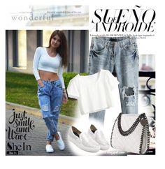 """SheIn VIII/III"" by sanela-trebinjac ❤ liked on Polyvore featuring moda"