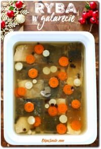 Ryba w galarecie - Fish in jelly - Fish in jelly recipe - Fish in jelly recipes - Christmas fish recipe - Christmas fish recipes Fish Recipes For Christmas, Jelly Recipes, Fish And Seafood, Palak Paneer, Sheet Pan, Deserts, Food Porn, Sweets, Breakfast