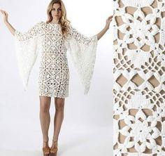Patrón #958: Vestido a Crochet | CTejidas [Crochet y Dos Agujas]