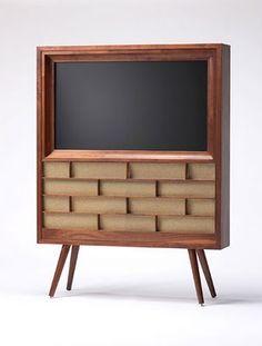 TV console.