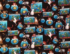 New Handmade mischievous cats kitties scrub top by HottScrubs