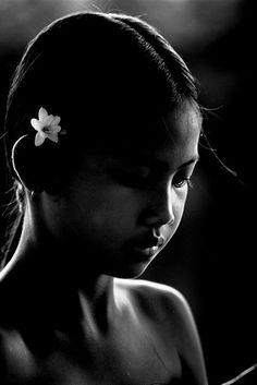 Balinese girl, Bali, Indonesia