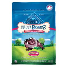 Blue Buffalo Blue Bones Natural Dental Dog Chews - PetSmart