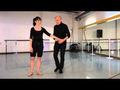 Les Pas de Liaison 2: pas de valse, piqué arabesque - YouTube