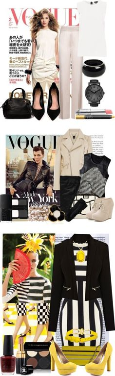 """Fashion mag inspiration"" by intheclotheset on Polyvore"