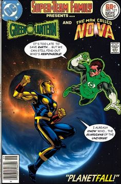 Super-Team Family: The Lost Issues!: Green Lantern and Nova