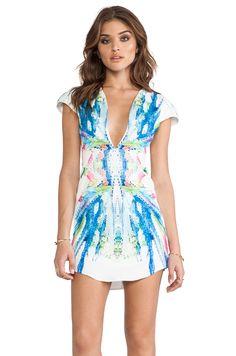 FAIRGROUND Shambhala Dress in Futuristic Botanical from REVOLVEclothing ...Bachelorette??