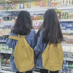 Shared by SANGNEW. Find images and videos about girl, friends and ulzzang on We Heart It - the app to get lost in what you love. Mode Ulzzang, Ulzzang Korean Girl, Ulzzang Couple, Best Friend Pictures, Friend Photos, Ulzzang Fashion, Korean Fashion, Korean Best Friends, Mode Kawaii