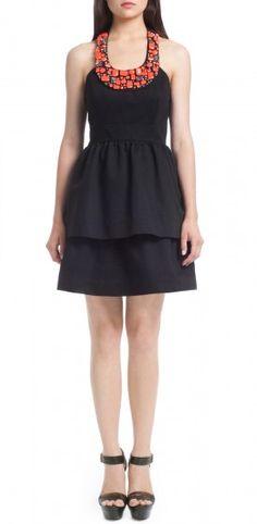 Shoshanna | Beaded Allegra Dress - Dresses