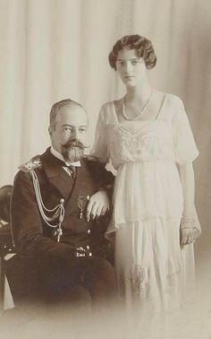 Princess Irina Alexandrovna with her father Grand Duke Alexander Mikhailovich
