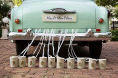 Mint green wedding
