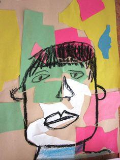 Matisse Inspired Self-Portraits in Grade One | Alejandra Chavez