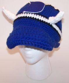 Duke University crochet hat