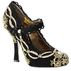 Dolce & Gabbana  my god I thought had I seen all the ugliness that was possible until I saw this shoes.....