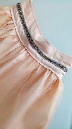 Mariage : jupe adulte ou ado nude ceinture bijou : Jupe par my-arabesque