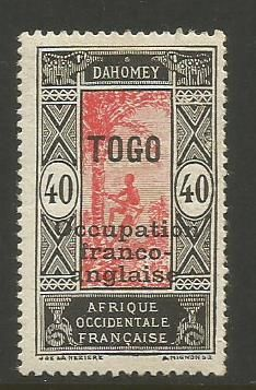 TOGO # 186 MHR (1916-17) - bidStart (item 34821281 in Stamps, Africa, Togo)