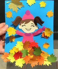 Preschool Art Projects, Kindergarten Crafts, Preschool Crafts, Fall Classroom Decorations, School Board Decoration, Seasons Activities, Diy And Crafts, Paper Crafts, Pumpkin Crafts