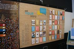 A place in the hallway for people to tell their stories about UH- tenants, renters and alum.