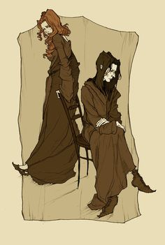 Lily and Severus by Abigail Larson