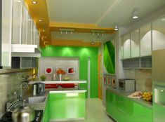 https://www.google.pl/search?q=green wall home interiors