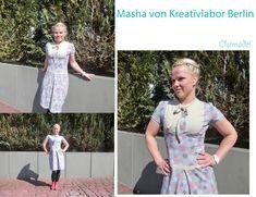 """Nähbeispiele Kleid """"Masha"""""""