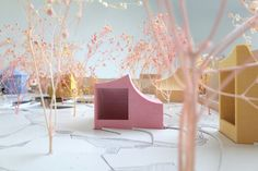 Norell/Rodhe's 2nd-prize entry for the Hans Christian Andersen House of Fairytales in Denmark