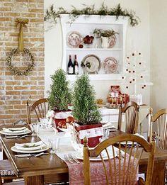 Decoración de Mesas en Navidad y Centros de Mesa