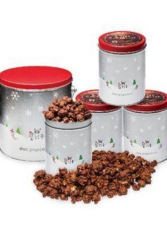 【Doc Popcorn】冬季限定フレーバー「ビターチョコレート」ご好評につき復活! クリスマスを彩る「ウィンター缶」も数量限定で販売中!
