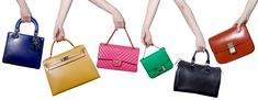 Designer handbags on sale, guaranteed authentic. Find new and vintage purses from luxury brands Chanel, Louis Vuitton, Hermes up to off at www. Designer Bags For Less, Designer Handbags On Sale, Designer Purses, Luxury Handbags, Fashion Handbags, Purses And Handbags, Branded Handbags Online, Vintage Purses, Evening Bags