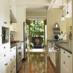 kitchen remodel idea for small galley kitchen