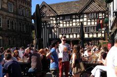 Manchester's beer gardens