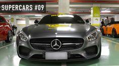 SUPERCARS #09 - Lamborghini Gallardo, Ferrari 458 Italia e outros carros esportivos acelerando!