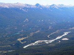 Jasper National Park, Ahtabasca River Jasper National Park, National Parks, Banff, Ice, Mountains, Water, Travel, Outdoor, Gripe Water