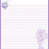 Printable Monster High Clawdeen Wolf Paper - FreePrintable.com