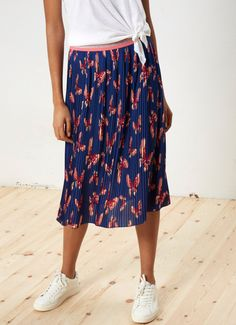 BUTTERFLY PLEATED SKIRT 'LISA'
