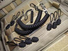 2 Lanyards 8 Zips Fits Maxpedition,Tad Gear,5.11,Blackhawk,Condor Tactical,EDC
