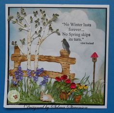 Country Scene by Selma - Cards and Paper Crafts at Splitcoaststampers