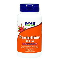 NOW Pantethine 300 mg60 Softgels * You can get additional details at the image link. (This is an affiliate link)