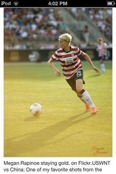 Megan Rapinoe. Women's USA soccer team