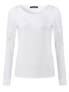 7cc0f7126 Women Casual Hollow Out Long Sleeve Blouse O-Neck Pure Color Tops Cheap Womens  Tops