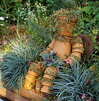 Garden Pot People DIY