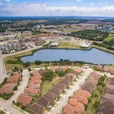 Unicorn lake #denton #aerialphotography #drone #lake #neighborhood