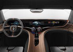 Beautiful interior on Quant e-Sportlimousine