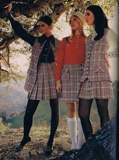 Seventeen August 1969. Regine Jeffrey, Cay Sanderson and Colleen Corby.